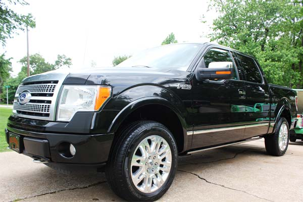 Image of a Ford F150