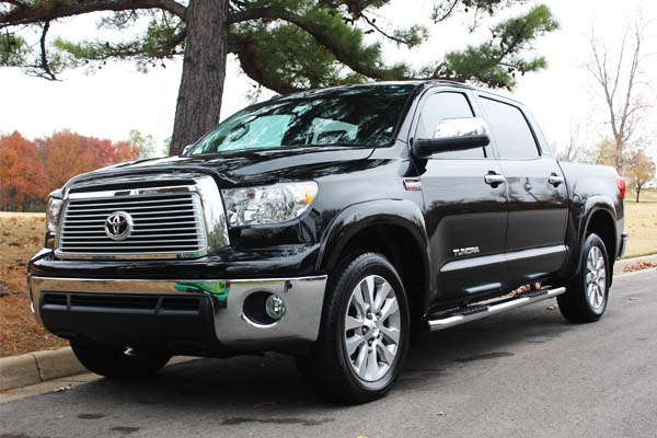 Image of a Toyota Tundra Truck