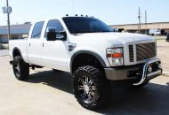 Client Vehicle – Ford Super Duty Truck