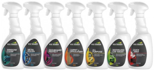 Image of the Eco Touch product that EcoGreen uses to detail with.