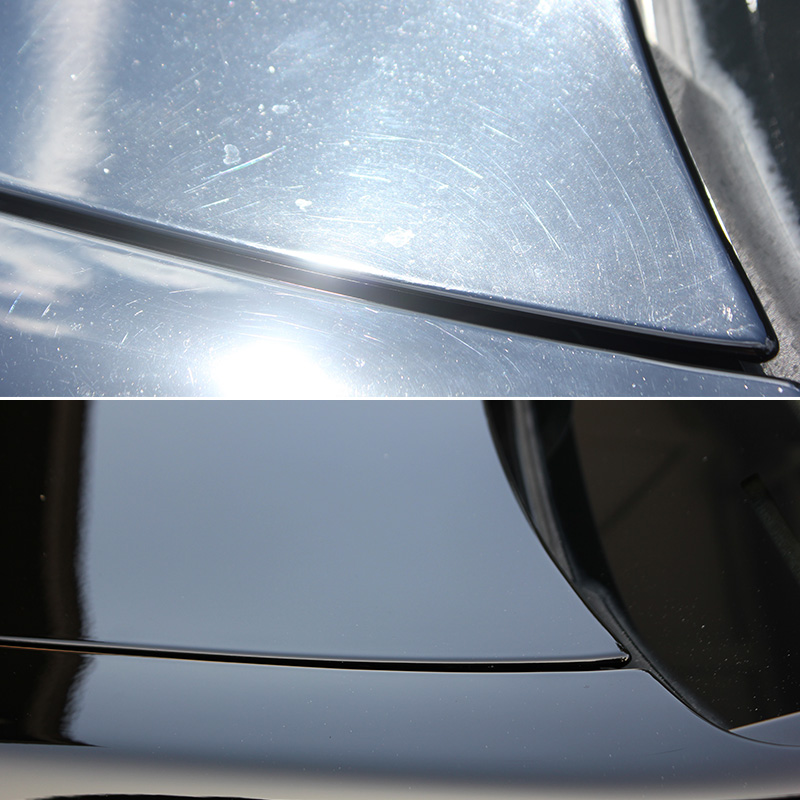 Image of Before & After Paint Correction Services