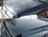 Front of Honda -Before & After Paint Correction Services
